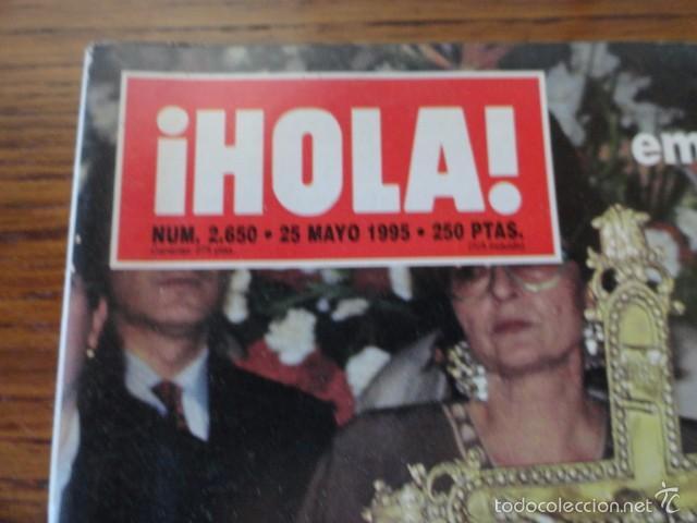 Coleccionismo de Revista Hola: REVISTA HOLA MUERTE LOLA FLORES (ESTEFANIA,BANDERAS,MELANIE,IMANOL,PREYSLER,DUQUESA ALBA,...) - Foto 2 - 56366680