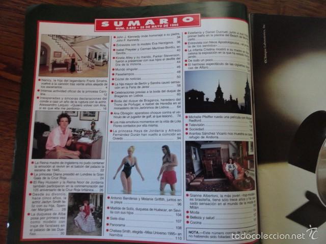Coleccionismo de Revista Hola: REVISTA HOLA MUERTE LOLA FLORES (ESTEFANIA,BANDERAS,MELANIE,IMANOL,PREYSLER,DUQUESA ALBA,...) - Foto 3 - 56366680