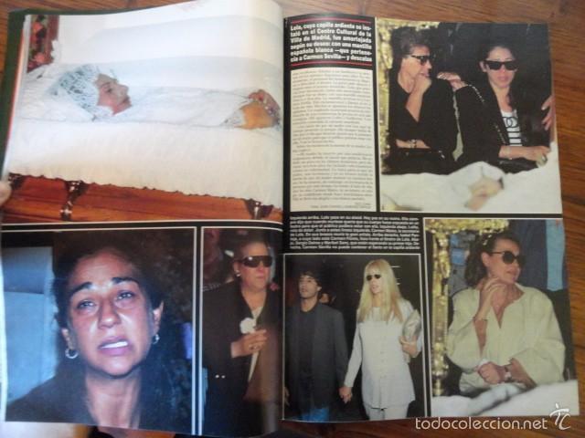 Coleccionismo de Revista Hola: REVISTA HOLA MUERTE LOLA FLORES (ESTEFANIA,BANDERAS,MELANIE,IMANOL,PREYSLER,DUQUESA ALBA,...) - Foto 4 - 56366680