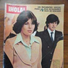 Coleccionismo de Revista Hola: REVISTA HOLA CAROLINA MONACO 1976 (PAUL GETTY, REYES,TARYN POWER, ...). Lote 56367005