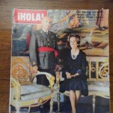 Coleccionismo de Revista Hola: REVISTA HOLA BODAS DE ORO FRANCO, 3 NOVIEMBRE 1973. Lote 56369301