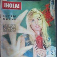 Coleccionismo de Revista Hola: REVISTA HOLA ENERO 1966 GRACE KELLY BRIGITE BARDOT SOPHIA LOREN MARISOL LINA MORGAN CARTELES CINE. Lote 56394589