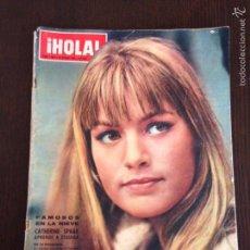 Coleccionismo de Revista Hola: REVISTA HOLA N° 1064 / CATHERINE SPAAK / AÑO 1965. Lote 56530440