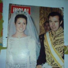 Coleccionismo de Revista Hola: REVISTA HOLA SOLO LA BODA . Lote 56533441