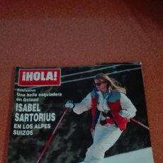 Coleccionismo de Revista Hola: REVISTA HOLA 1992 SARTORIUS,STALLONE,VAITIARE,LUKE PERRY,PUBLI MARTA SANCHEZ MAGANGI JEANS. Lote 56542483