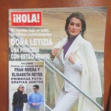 Coleccionismo de Revista Hola: REV. 1/2009 HOLA DOÑA LETICIA, FRAN RIVERA,MIRANDA KERR,MAGDALENA SUECIA,PAZ VEGA.. Lote 56604175