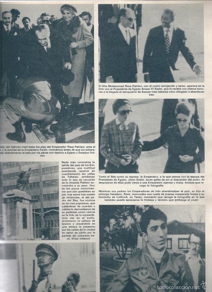 Coleccionismo de Revista Hola: EL SHA DE PERSIA y FARAH DIBA, SUPERMAN ( CHRISTOPHER REEVE ), CAROLINA DE MÓNACO, CRISTINA ONASSIS - Foto 5 - 22733862