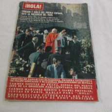 Collezionismo di Rivista Hola: HOLA Nº 1994. VISITA DEL PAPA JUAN PABLO A ESPAÑA. CLIO GOLDSMITH. EL MISTERIO DE GUADALUPE. Lote 57494489