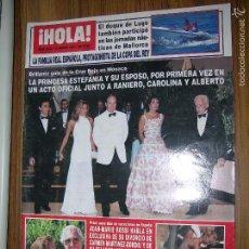 Coleccionismo de Revista Hola: REVISTA HOLA Nº 2662( CLAUDIA SCHIFFER VACACIONES EN MALLORCA). Lote 57769668