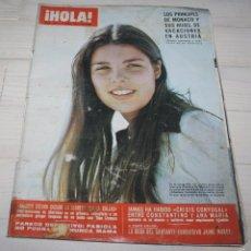 Coleccionismo de Revista Hola: HOLA-CAROLINA DE MONACO-1972 Nº 442. Lote 57857097