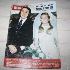 Coleccionismo de Revista Hola: HOLA-BODA DE KARINA-1973 Nº 1493. Lote 57857140