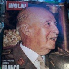 Coleccionismo de Revista Hola: HOLA-FRANCO A MUERTO-NUMERO ESPECIAL. Lote 57977151