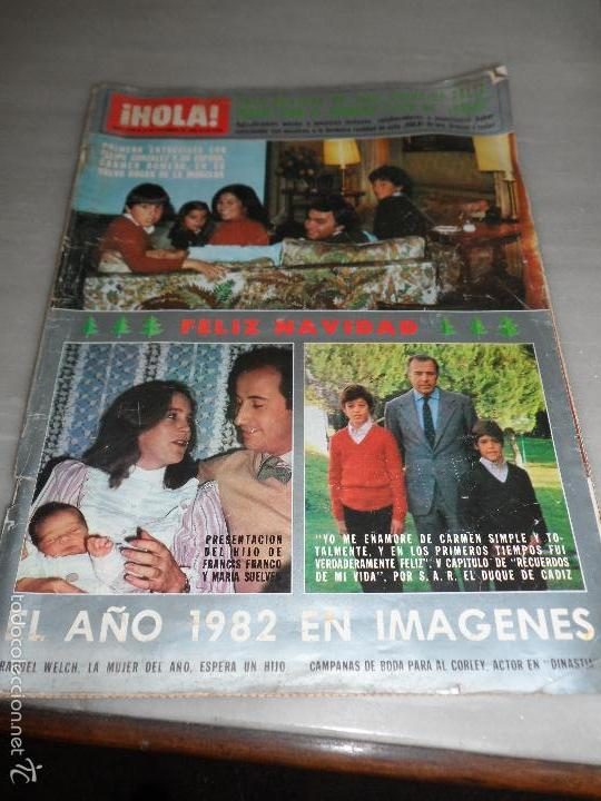 REVISTA HOLA Nº 2000 AÑO 1982 ENTREVISTA A FELIPE GONZALEZ - HIJO FRANCIS FRANCO (Coleccionismo - Revistas y Periódicos Modernos (a partir de 1.940) - Revista Hola)