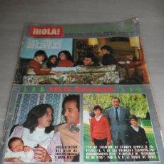 Coleccionismo de Revista Hola: REVISTA HOLA Nº 2000 AÑO 1982 ENTREVISTA A FELIPE GONZALEZ - HIJO FRANCIS FRANCO. Lote 58071557
