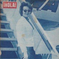 Coleccionismo de Revista Hola: REVISTA HOLA 30 DE AGOSTO DE 1958 SARA MONTIEL . Lote 58258062