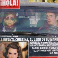 Coleccionismo de Revista Hola: REVISTA HOLA Nº 3527 AÑO 2012. INFANTA CRISTINA. PENELOPE CRUZ. . Lote 58326709