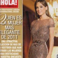 Coleccionismo de Revista Hola: REVISTA HOLA Nº 3513 AÑO 2011. MUJERES MAS ELEGANTES. CUMPLEAÑOS TAMARA FALCO. . Lote 58326939