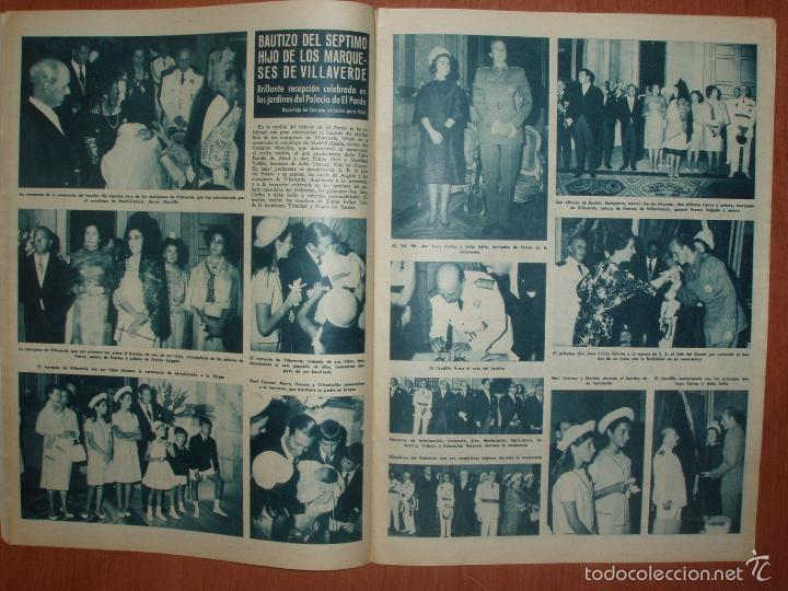 Coleccionismo de Revista Hola: REVISTA ILUSTRADA HOLA. Nº 1039, AÑO 1964 BAUTIZO DEL HIJO DE MARQUESES DE VILLAVERDE... - Foto 2 - 58412917