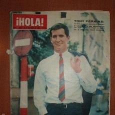 Coleccionismo de Revista Hola: REVISTA ILUSTRADA HOLA. Nº 1050, AÑO 1964 FEDERICA DE GRECIA, REYES DE TAILANDIA, TONI PERKINS.... Lote 58413057