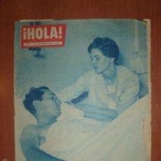 Coleccionismo de Revista Hola: REVISTA ILUSTRADA HOLA. Nº 780, AÑO 1959. LUIS MIGUEL DOMINGUIN, HERIDO POR UN TORO.... Lote 58413076