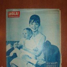 Coleccionismo de Revista Hola: REVISTA ILUSTRADA HOLA. Nº 890, AÑO 1961. CRUCERO DE DESCANSO ELIZABETH TAYLOR.... Lote 58413163