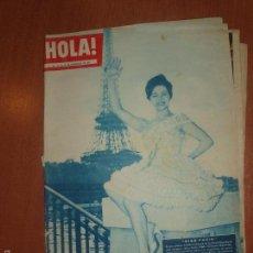 Coleccionismo de Revista Hola: REVISTA ILUSTRADA HOLA. Nº 794, AÑO 1959. MISS PARIS, REPORTAJE MISS MUNDO..... Lote 58413244