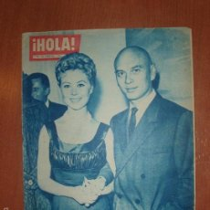 Coleccionismo de Revista Hola: REVISTA ILUSTRADA HOLA. Nº 802, AÑO 1960. YUL BRYNNER Y MITZI GAYNOR..... Lote 166868740