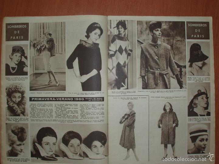 Coleccionismo de Revista Hola: REVISTA ILUSTRADA HOLA. Nº 802, AÑO 1960. YUL BRYNNER Y MITZI GAYNOR.... - Foto 2 - 166868740