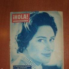 Coleccionismo de Revista Hola: REVISTA ILUSTRADA HOLA. Nº 782, AÑO 1959. BAUTIZO SEGUNDO HIJO CONDES LIMBOURG.... Lote 58413281