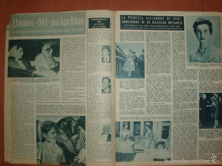 Coleccionismo de Revista Hola: REVISTA ILUSTRADA HOLA. Nº 782, AÑO 1959. BAUTIZO SEGUNDO HIJO CONDES LIMBOURG... - Foto 2 - 58413281