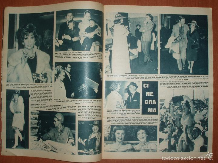 Coleccionismo de Revista Hola: REVISTA ILUSTRADA HOLA. Nº 1066, AÑO 1965. CASAMIENTO ULTIMA BISNIETA DE DON ALFONSO XII.... - Foto 2 - 58434291