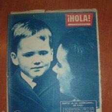 Coleccionismo de Revista Hola: REVISTA ILUSTRADA HOLA. Nº 817, AÑO 1960. BODA PRINCESA MARGARITA DE INGLATERRA.... Lote 58434309