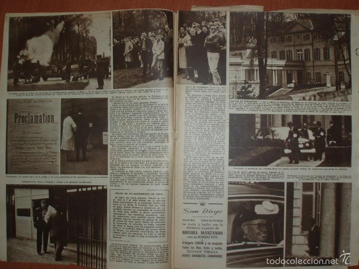 Coleccionismo de Revista Hola: REVISTA ILUSTRADA HOLA. Nº 817, AÑO 1960. BODA PRINCESA MARGARITA DE INGLATERRA... - Foto 2 - 58434309