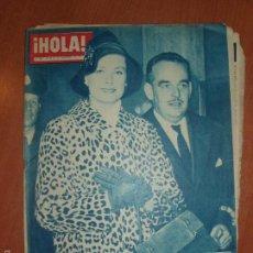 Coleccionismo de Revista Hola: REVISTA ILUSTRADA HOLA. Nº 798, AÑO 1959. PRINCIPE RAINIERO Y LA PRINCESA GRACE...... Lote 58434356