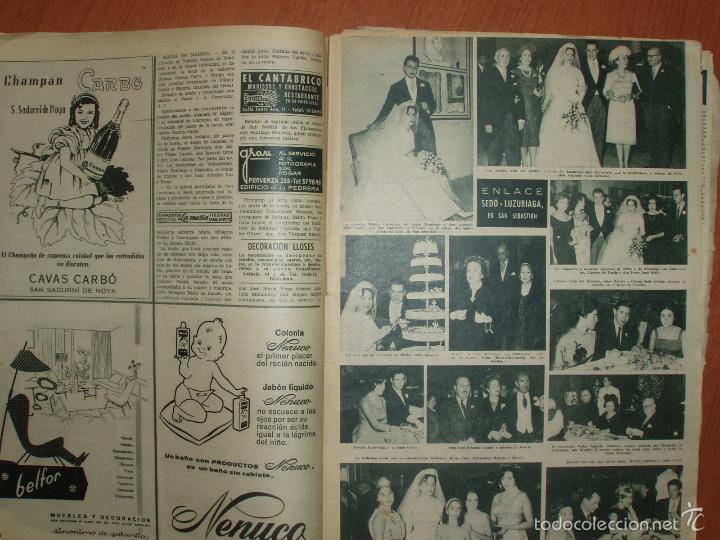 Coleccionismo de Revista Hola: REVISTA ILUSTRADA HOLA. Nº 798, AÑO 1959. PRINCIPE RAINIERO Y LA PRINCESA GRACE..... - Foto 2 - 58434356
