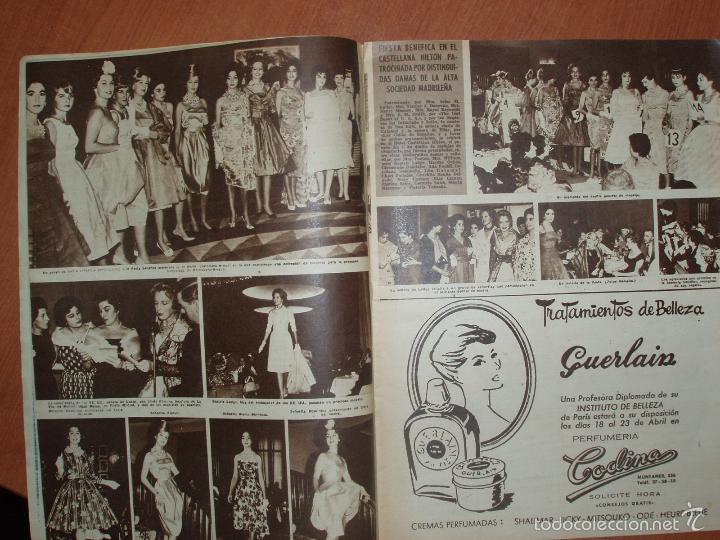 Coleccionismo de Revista Hola: REVISTA ILUSTRADA HOLA. Nº 816, AÑO 1960. LA SEÑORA DE KENNEDY Y SU MARIDO, SEMANA SANTA EN ESPAÑA.. - Foto 2 - 58434371