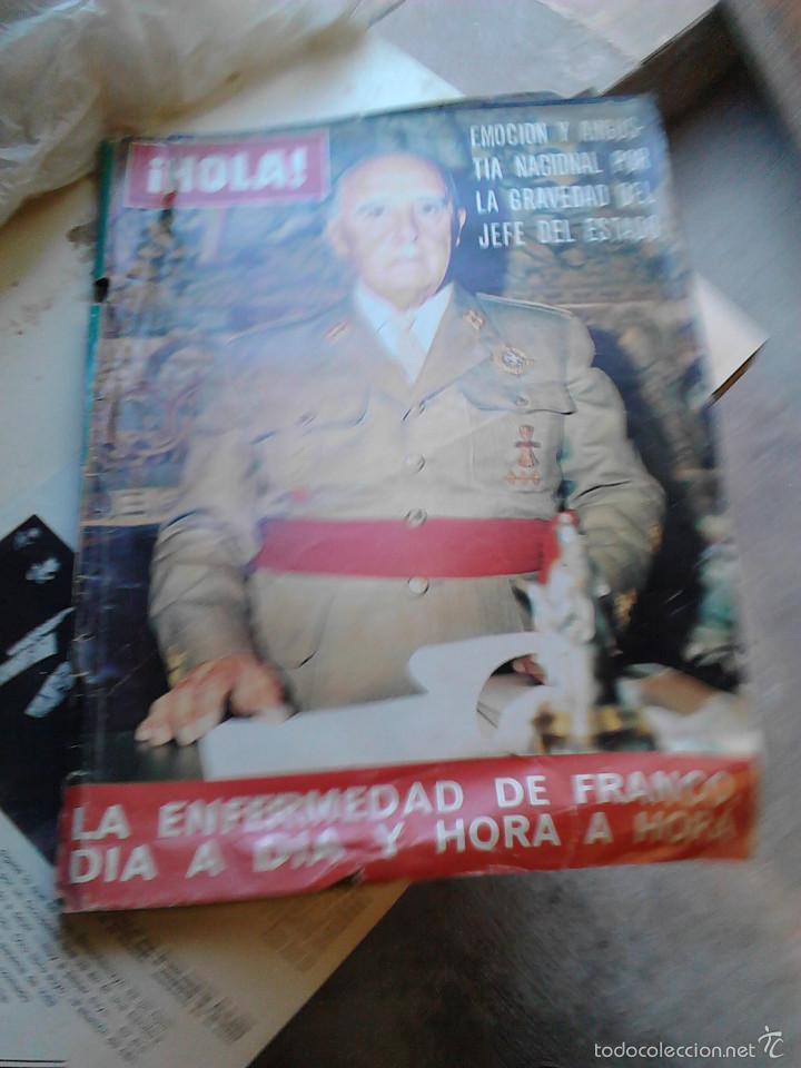 REVISTA HOLA NOVIEMBRE 1975 (Coleccionismo - Revistas y Periódicos Modernos (a partir de 1.940) - Revista Hola)