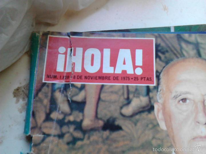Coleccionismo de Revista Hola: revista hola noviembre 1975 - Foto 2 - 58445109