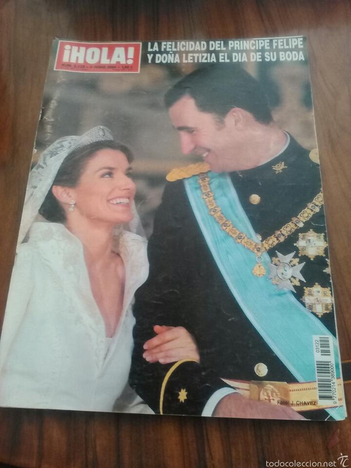 HOLA ESPECIAL BODA REAL. (Coleccionismo - Revistas y Periódicos Modernos (a partir de 1.940) - Revista Hola)