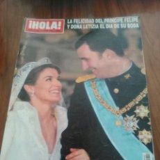 Coleccionismo de Revista Hola: HOLA ESPECIAL BODA REAL.. Lote 58641102