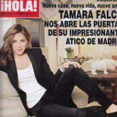 Coleccionismo de Revista Hola: REVISTA HOLA Nº 3468 AÑO 2011. TAMARA FALCO. TRAVOLTA. JAYDY MICHEL Y RAFA MARQUEZ. ALBA Y FONSI. . Lote 59966539