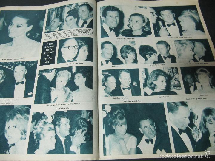 Coleccionismo de Revista Hola: REVISTA HOLA REPORTAJE ESTRENO MY FAIR LADY AUDREY HEPBURN REX HARRISON ENTREVISTA MARISOL - Foto 3 - 60551583