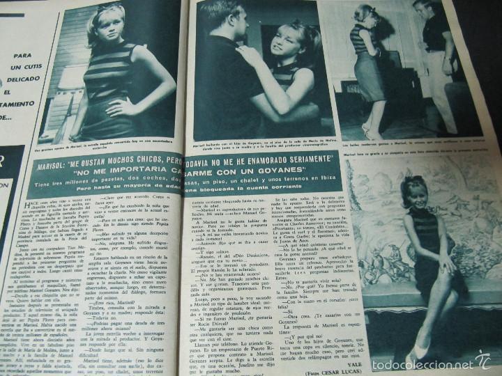 Coleccionismo de Revista Hola: REVISTA HOLA REPORTAJE ESTRENO MY FAIR LADY AUDREY HEPBURN REX HARRISON ENTREVISTA MARISOL - Foto 4 - 60551583