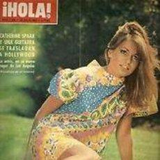 Coleccionismo de Revista Hola: CATHERINE SPAAK / PORTADA Y REPORTAJE / REVISTA HOLA 1144 / 1966 / 12. Lote 60633731