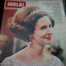 Coleccionismo de Revista Hola: LA REINA FABIOLA / PORTADA Y REPORTAJE / REVISTA HOLA 1142 / 1966 / 13. Lote 60634215