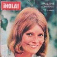 Coleccionismo de Revista Hola: ULLA BERGRYD / PORTADA Y REPORTAJE / REVISTA HOLA 1162 / 1966 / 13. Lote 60635359