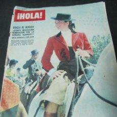 Coleccionismo de Revista Hola: REVISTA HOLA MAYO 1966 GRACE KELLY ADAMO FIESTAS ASTURIAS FIESTAS MURCIA CARMINA ALONSO MODA. Lote 60640139