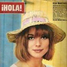 Coleccionismo de Revista Hola: ELSA MARTINELLI / PORTADA Y REPORTAJE / REVISTA HOLA 1154 / 1966 / 12. Lote 60650139