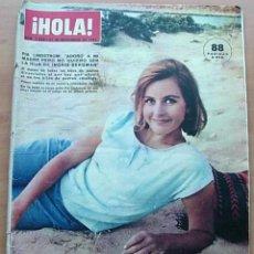 Coleccionismo de Revista Hola: PIA LINDSTROM / PORTADA Y REPORTAJE / REVISTA HOLA 1056 / 1964 / 12. Lote 60675263
