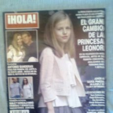 Coleccionismo de Revista Hola: REVISTA LA PRINCESA LEONOR REVISTA HOLA. Lote 60719083